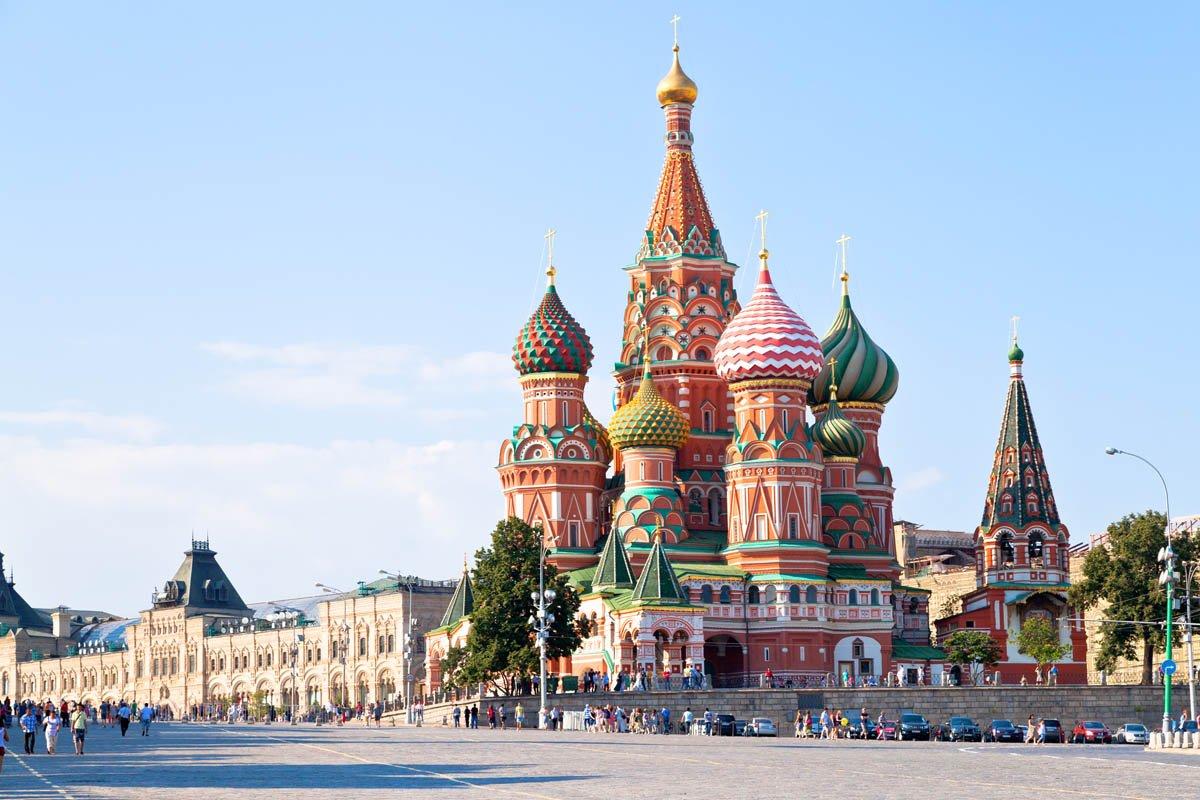 Собор Василия Блаженного – символ России