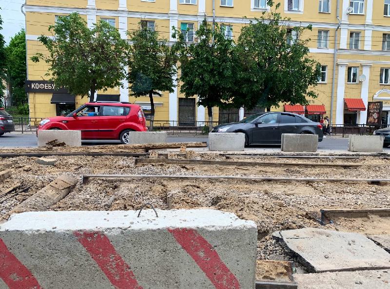 Соцсети: «выделенка» для трамваев не создаст коллапс в Смоленске