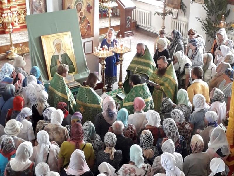 В Смоленск принесены мощи святой Матроны Московской