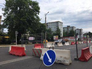Ремонт газопровода в Смоленске создал почти километровую пробку