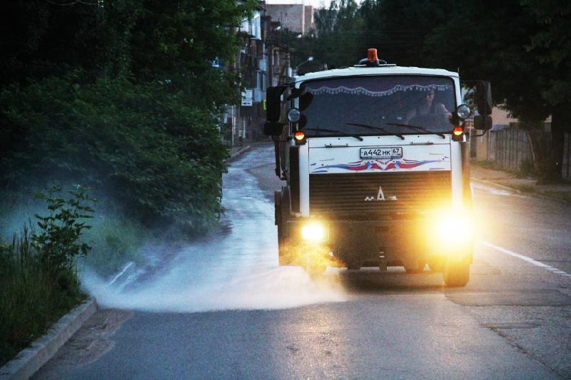На этой неделе в Смоленске уберут 25 улиц