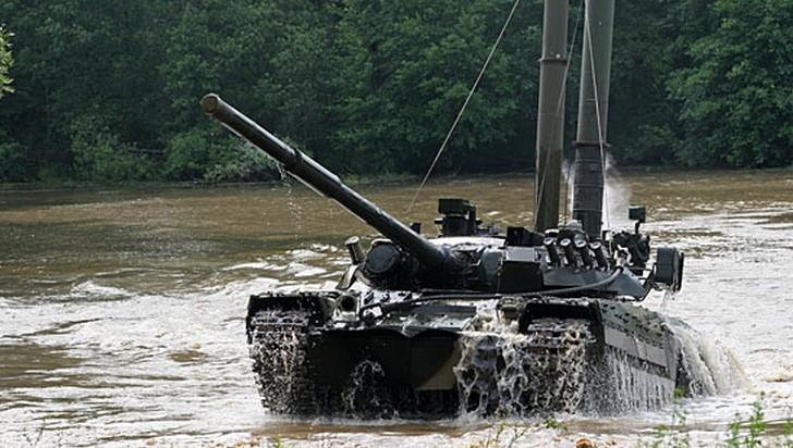 В Смоленской области развернут новый танковый полк