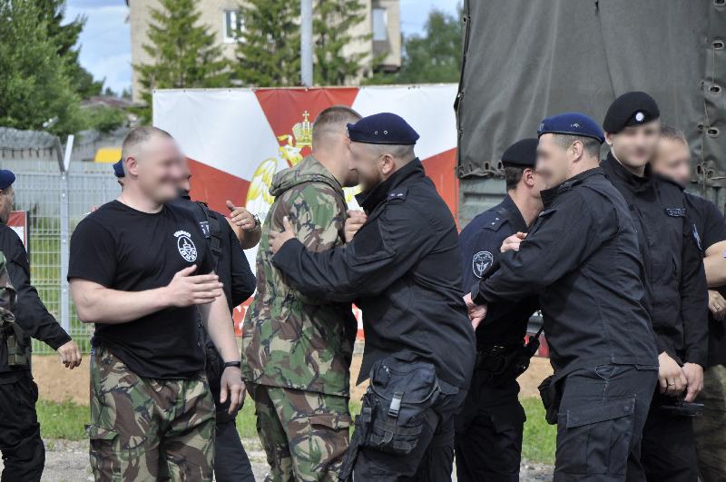 Сотрудники спецподразделений управления Росгвардии по Смоленской области вернулись из служебной командировки