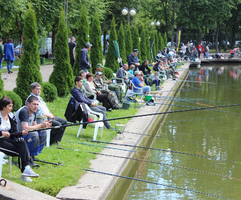 Стало известно сколько рыбы выловили из водоема в центральном парке Смоленска
