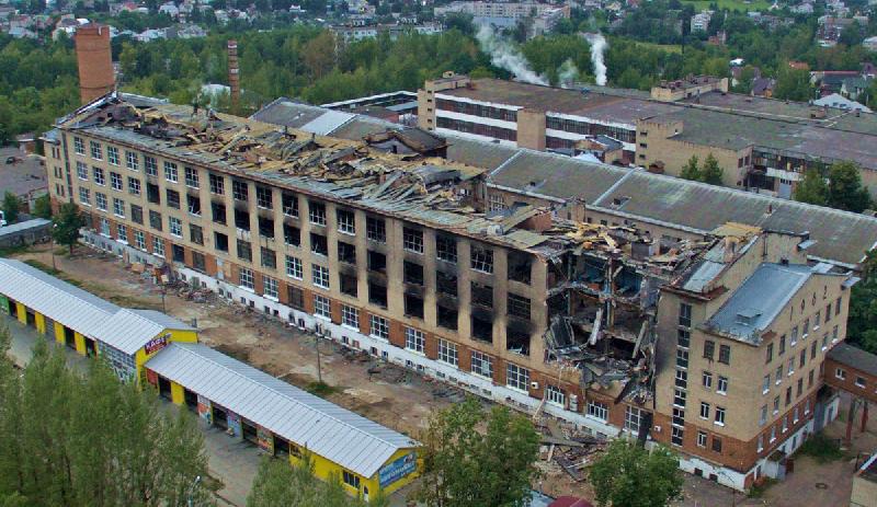 Смоленская фабрика «Шарм» преодолела последствия чрезвычайной ситуации