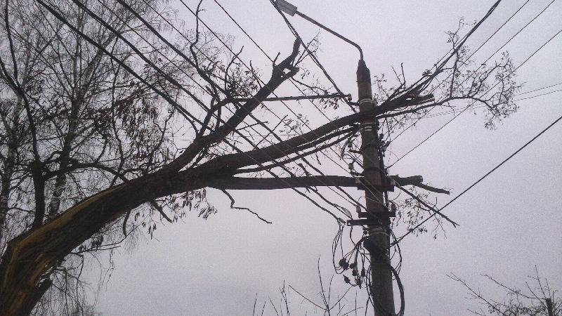 Электроснабжение смоленского села полностью восстановлено