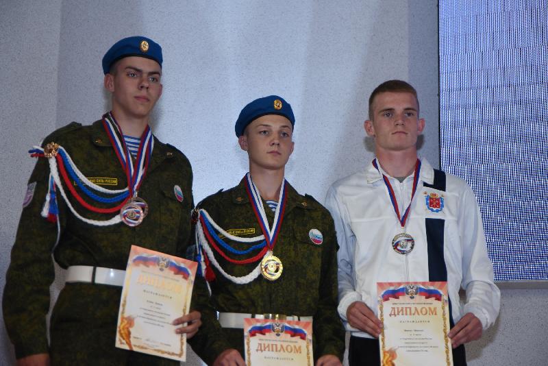 В Смоленске состоялось закрытие Спартакиады молодежи России допризывного возраста
