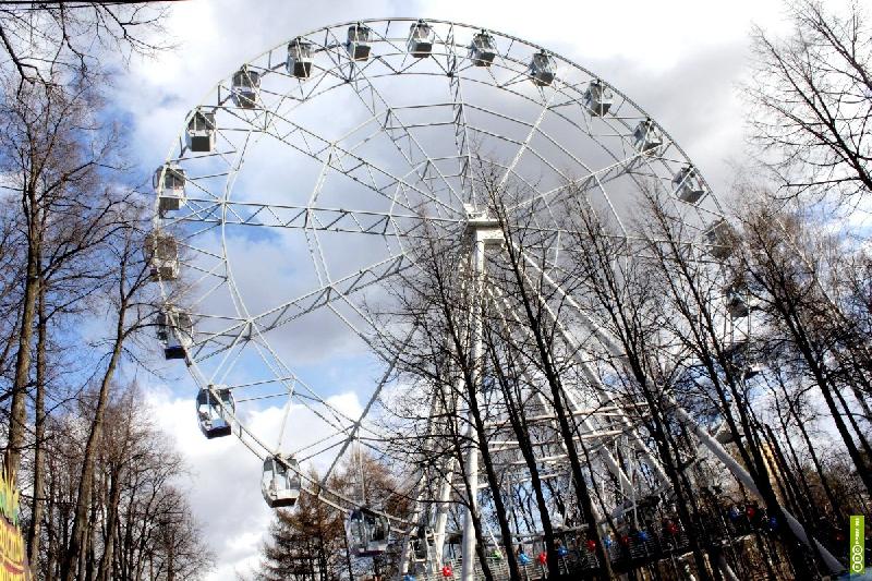 Новое колесо обозрения в Смоленске всех удивит