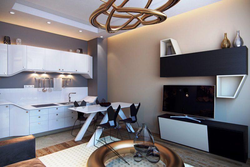 Квартира в стиле футуризм