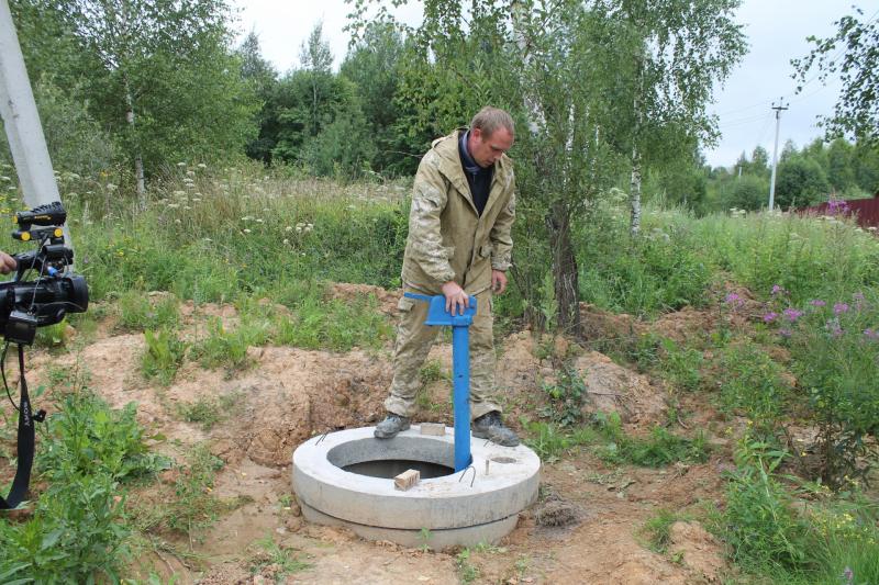 В д. Радкевщина Смоленского района появилось централизованное водоснабжение