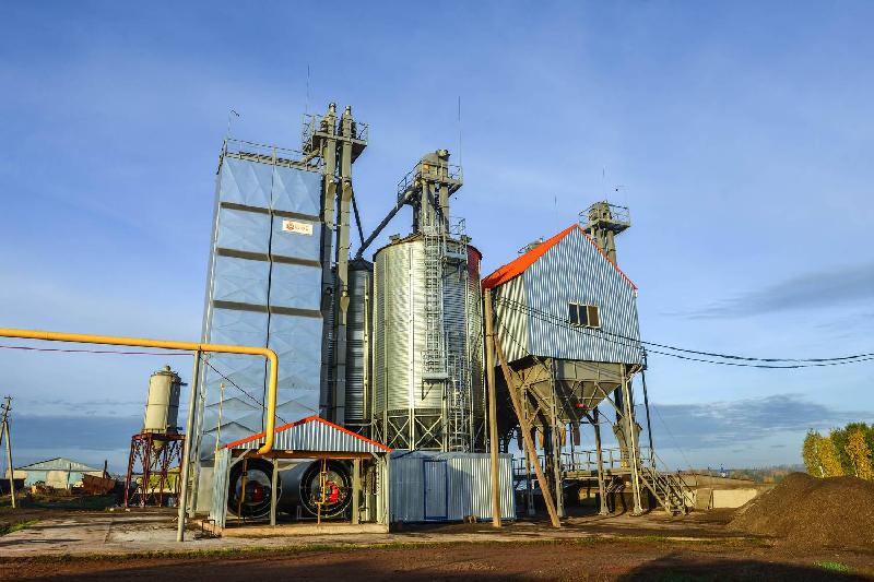 В Смоленской области двое злоумышленников раскурочили зерносушилку