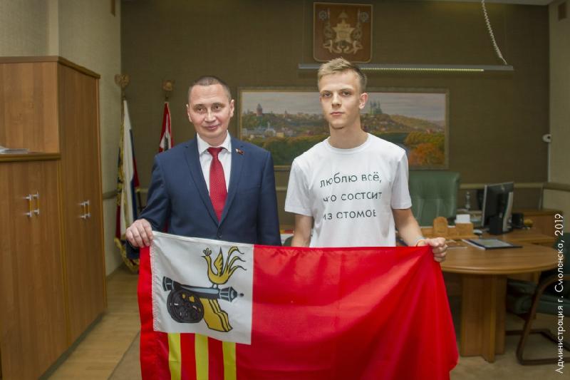 Юный путешественник развернет флаг Смоленска на Северном полюсе