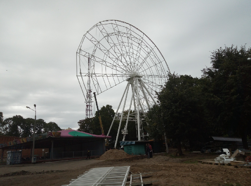 Открытие колеса обозрения в Смоленске снова переносится?