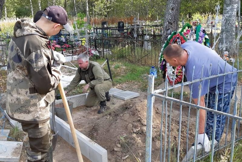 В Смоленской области благоустроили место захоронения расстрелянных партизан