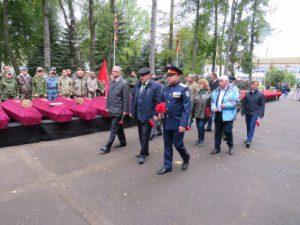 В Смоленской области перезахоронили останки воинов Советской Армии, погибших в годы Великой Отечественной войны