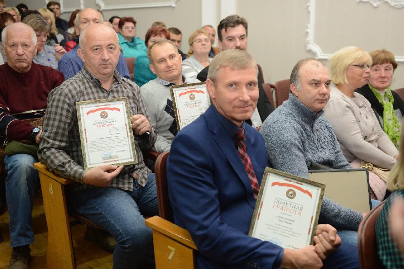 В Смоленске наградили машиностроителей-передовиков