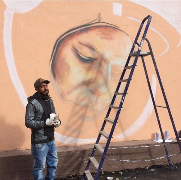 В Смоленске появится граффити с изображением Юрия Гагарина