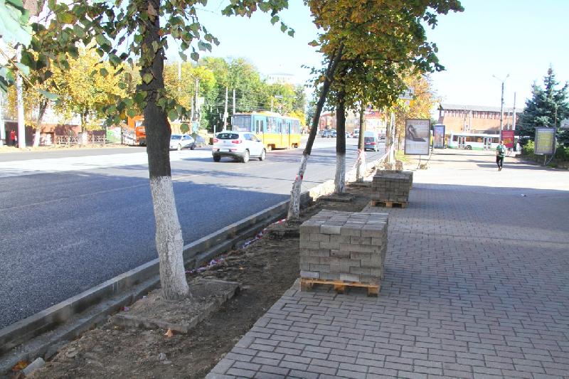 На проспекте Гагарина в Смоленске увеличат зеленую зону