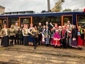 В День города по Смоленску проедет музыкально-поэтический трамвай