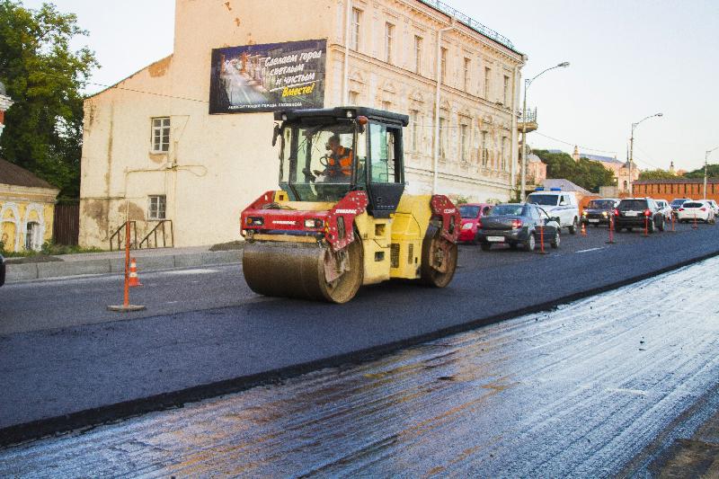 В Смоленске отремонтировали 10 из 16 дорог