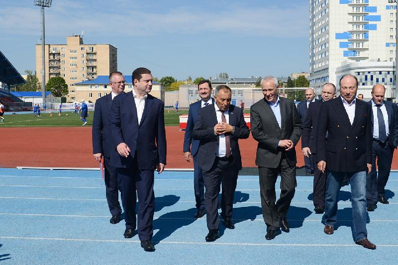 Государственный секретарь Союзного государства Григорий Рапота посетил Смоленскую область