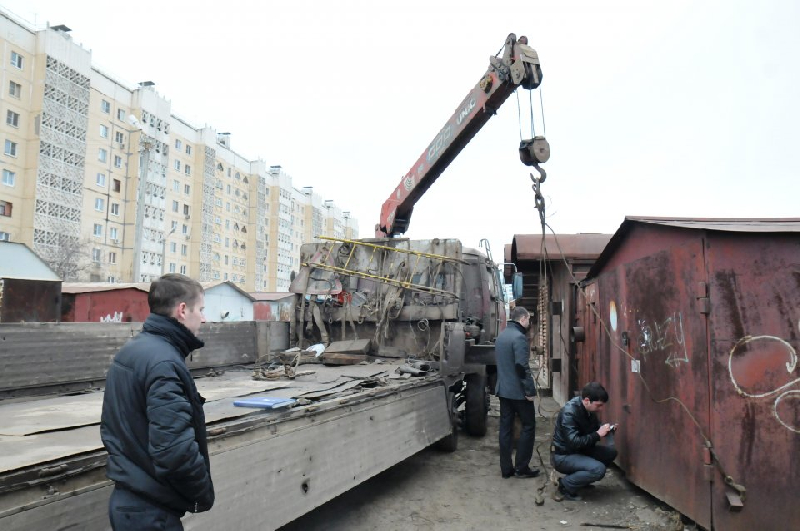 В Смоленске снесут очередную партию ларьков и гаражей