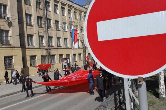В Смоленске из-за митинга ограничат движение авто