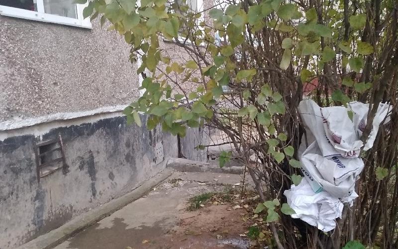 Жителей смоленского райцентра беспокоит работа уборщиков