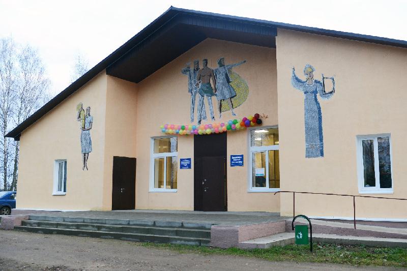 В Смоленской области торжественно открыли отремонтированный ДК