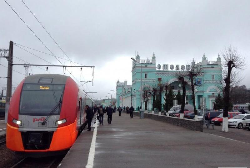 Между Москвой и Смоленском будут курсировать «Ласточки» с вагонами эконом- и бизнес-класса