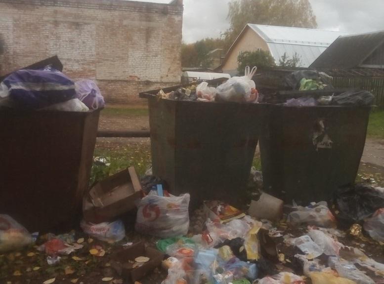 В Смоленском райцентре завалили мусором дом творчества
