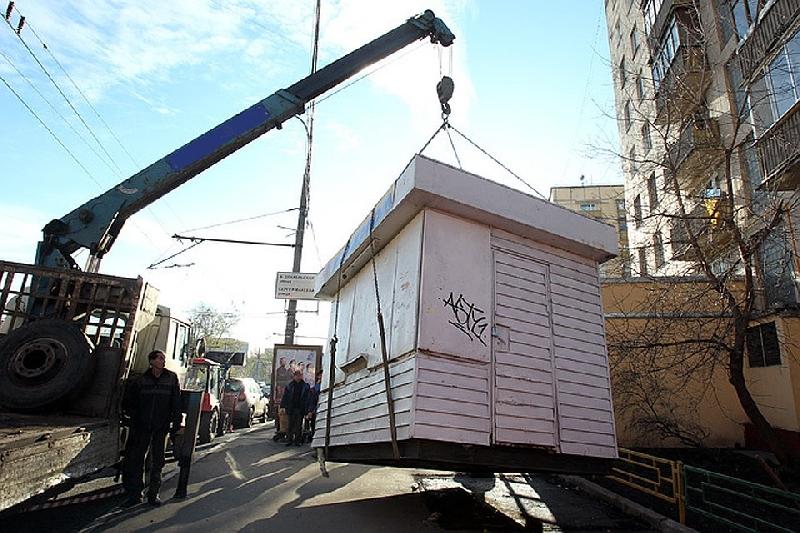 В Смоленске снесут еще 6 «незаконных» ларьков