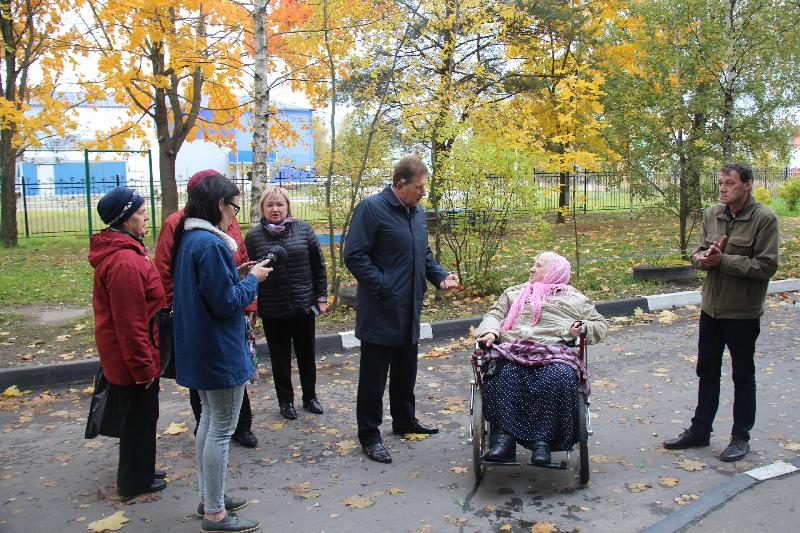 Комфортная городская среда для старейших смолян