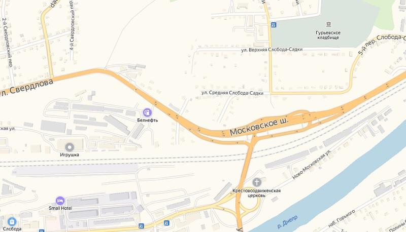 В Смоленске на 2 месяца ограничат движение на транспортной развязке