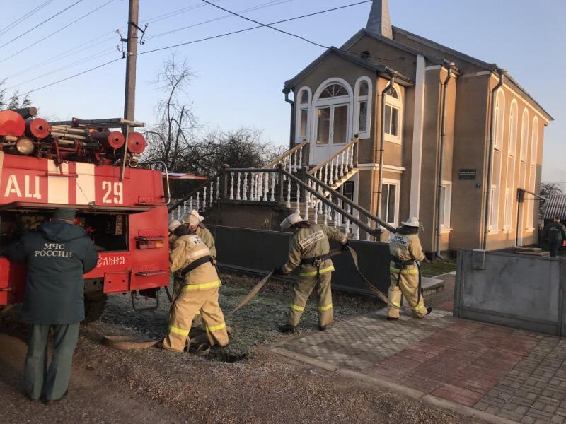 В Смоленской области из храма эвакуировали людей
