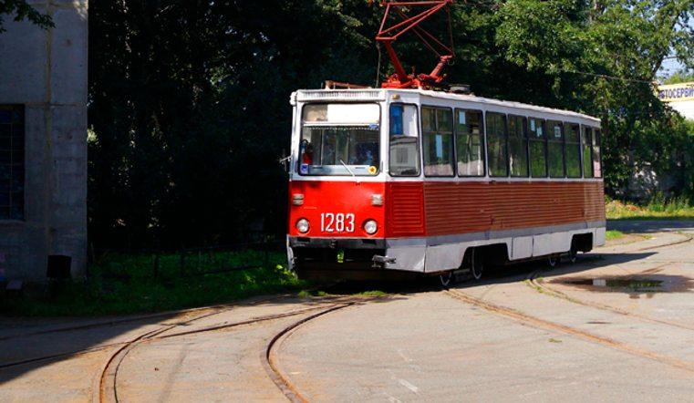 Где в Смоленске ограничили движение трамваев