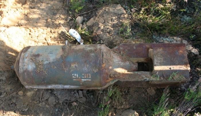 В Смоленской области нашли бомбу