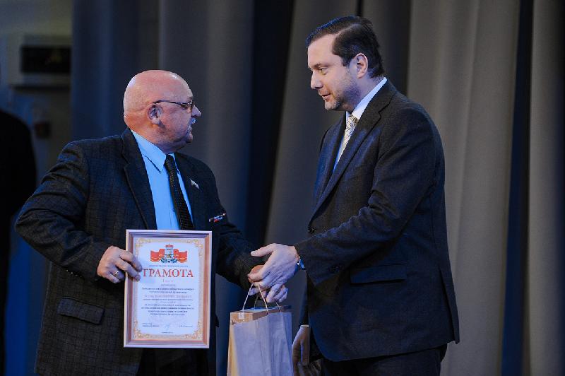 В Смоленске наградили лучших народных дружинников региона