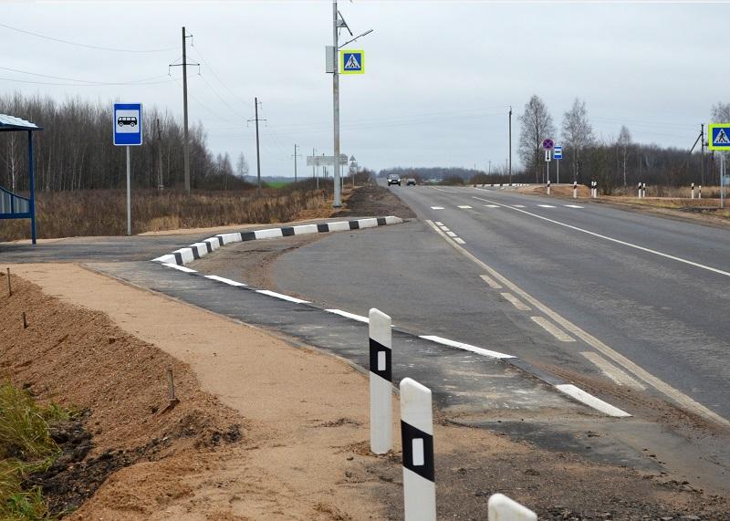 На смоленских дорогах устанавливают «умные» системы освещения