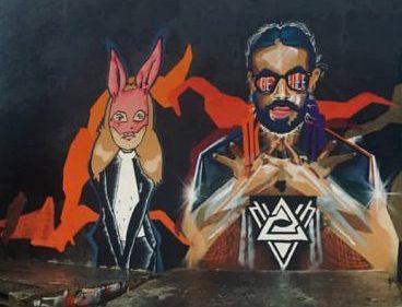 В Смоленске появилось граффити в память о главном русском рэпере начала нулевых