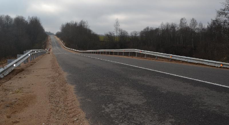 В Смоленской области завершается ремонт еще одной дороги