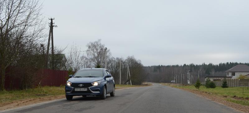 «Смоленскавтодор» завершил ремонт дороги в Ярцевском районе