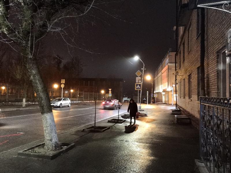 «Световая «революция» в Смоленске»: мэр города проинспектировал работы по замене уличного освещения