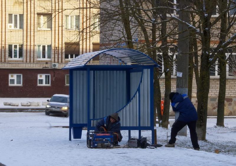 В Смоленске перенесут остановку на Трамвайном проезде