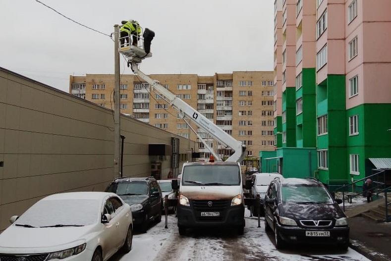 В Смоленске заменили первую тысячу светильников