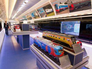 В Смоленск и Вязьму приедет «поезд-музей»