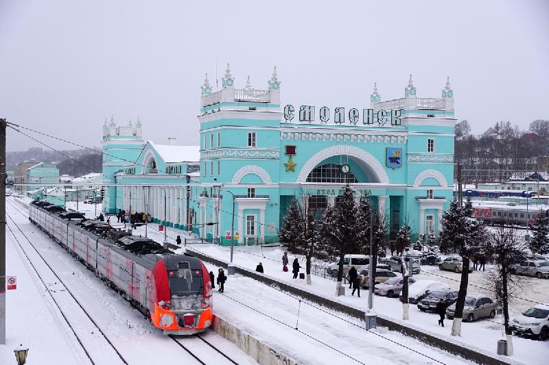 Между Смоленском и Питером пустят дополнительные поезда