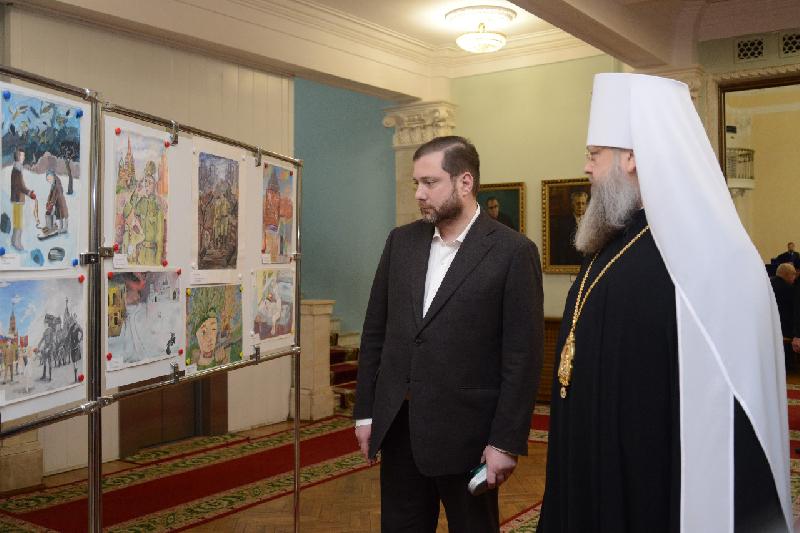Губернатор Алексей Островский принял участие в V Региональных Рождественских образовательных чтениях