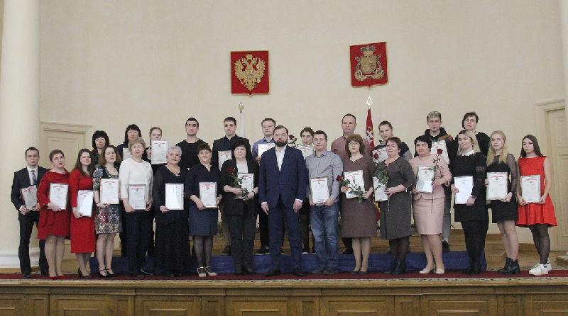 В Смоленске наградили участников чемпионата «Абилимпикс»