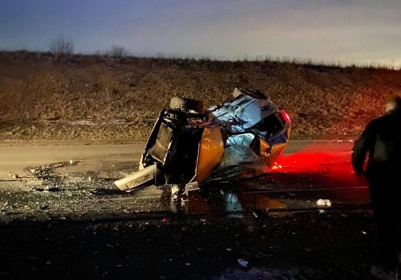 В Смоленском районе произошла страшная автокатастрофа